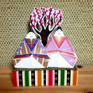 hina matsuri chiyogami origami