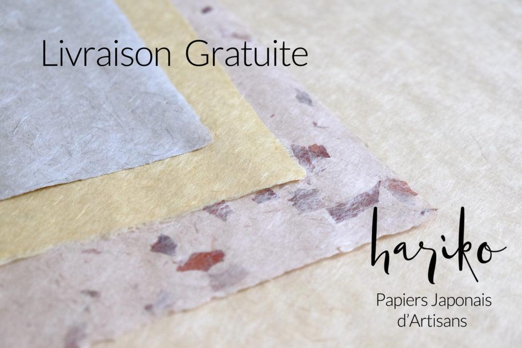 Livraison gratuite sur harikopaper.com papier japonais washi