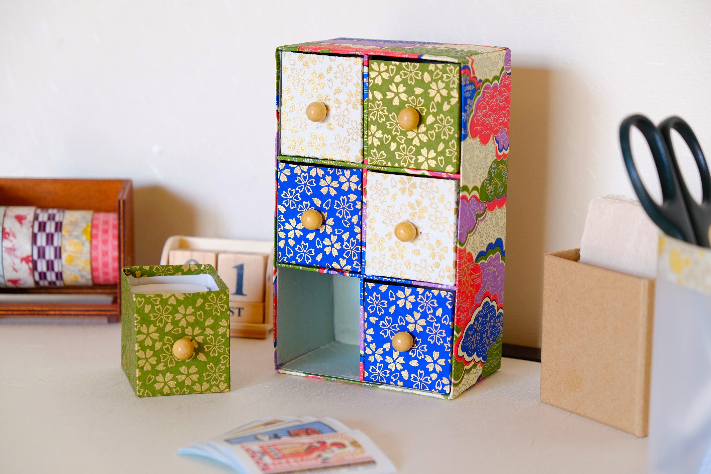 tutoriel boite a tiroirs papier japonais